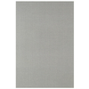 Interceramic 6-Pack 16-in x 24-in Linen Smoke Ceramic Floor Tile