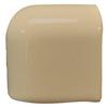 Interceramic Cocoa Ceramic Mud Cap Corner Tile (Common: 2-in x 2-in; Actual: 2-in x 2-in)