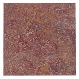 Interceramic 10-Pack 16-in x 16-in Calcutta Slate Manali Red Ceramic Floor Tile
