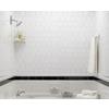 Interceramic White Ceramic Wall Tile (Common: 4-in x 4-in; Actual: 4.24-in x 4.24-in)