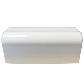 Interceramic Wall Tile White Ceramic Countertop Trim Tile (Common: 2-1/2-in x 6-in; Actual: 2.13-in x 6-in)