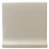 Interceramic 4-in x 4-in Bone Ceramic Cove Base Tile