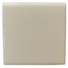 Interceramic Wall Tile Bone Ceramic Bullnose Tile (Common: 4-in x 4-in; Actual: 4.24-in x 4.24-in)