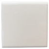 Interceramic 4-in x 4-in White Ceramic Bullnose Trim