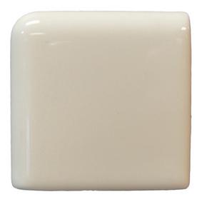 Interceramic Wall Tile Bone Ceramic Bullnose Tile (Common: 2-in x 2-in; Actual: 2-in x 2-in)