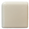 Interceramic 2-in x 2-in Bone Ceramic Corner Bullnose Trim
