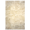 Interceramic 10-Pack 16-in x 16-in Travertino Royal Ivory Ceramic Floor Tile