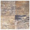 Interceramic 10-Pack Slate Supremo Autumn Ceramic Indoor/Outdoor Floor Tile (Common: 16-in x 16-in; Actual: 15.74-in x 15.74-in)