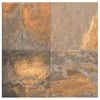 Interceramic Slate Supremo 10-Pack Multicolor Ceramic Floor Tile (Common: 16-in x 16-in; Actual: 15.74-in x 15.74-in)