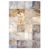 Interceramic Slate Supremo 10-Pack Winter Ceramic Floor Tile (Common: 16-in x 16-in; Actual: 15.74-in x 15.74-in)