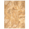 Interceramic Travertino Royal 6-Pack Gold Ceramic Floor Tile (Common: 16-in x 24-in; Actual: 15.74-in x 23.6-in)