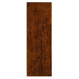 Style Selections 6-in x 20-in Colonial Wood Pecan Ceramic Floor Tile