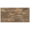 Interceramic 6-in x 24-in Forestland Cypress Glazed Porcelain Floor Tile