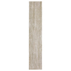 Interceramic 12-Pack Sunwood Legend Beige Ceramic Indoor/Outdoor Floor Tile (Common: 5-in x 24-in; Actual: 4.92-in x 23.6-in)
