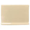 Interceramic Tender Tan Ceramic Cove Base Tile (Common: 4-in x 6-in; Actual: 4.25-in x 6-in)