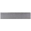 Style Selections 3-in x 16-in Gino Grey Ceramic Bullnose Tile