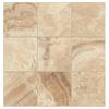 Interceramic 14-Pack La Travonya Natural Glazed Porcelain Indoor/Outdoor Floor Tile (Common: 13-in x 13-in; Actual: 13.19-in x 13.19-in)