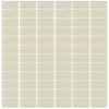 Interceramic Glassique Putty Uniform Squares Mosaic Glass Wall Tile (Common: 12-in x 12-in; Actual: 11.81-in x 11.81-in)