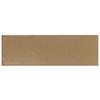Interceramic Brick 40-Pack Cocoa Debossed Ceramic Wall Tile (Common: 4-in x 12-in; Actual: 4.29-in x 12.89-in)