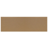 Interceramic Brick 40-Pack Cocoa Embossed Ceramic Wall Tile (Common: 4-in x 12-in; Actual: 4.29-in x 12.89-in)