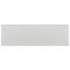 Interceramic Brick 40-Pack Smoke Debossed Ceramic Wall Tile (Common: 4-in x 12-in; Actual: 4.29-in x 12.89-in)