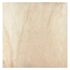 Interceramic Sunset Beige Ceramic Indoor/Outdoor Floor Tile (Common: 16-in x 16-in; Actual: 15.74-in x 15.74-in)