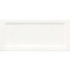 Interceramic Up and Down White Ceramic Wall Tile (Common: 3-in x 6-in; Actual: 6-in x 2.95-in)