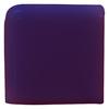 Interceramic Pure Cobalt Ceramic Bullnose Tile (Common: 4-in x 4-in; Actual: 4.24-in x 4.24-in)