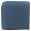 Interceramic Colonial Blue Ceramic Bullnose Tile (Common: 2-in x 2-in; Actual: 2-in x 2-in)