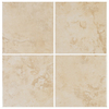 Interceramic 40-Pack 6-in x 6-in Bruselas Bone Ceramic Wall Tile