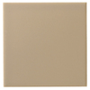 Interceramic 80-Pack 4-in x 4-in Cocoa Ceramic Wall Tile