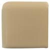 Interceramic Cocoa Ceramic Bullnose Tile (Common: 2-in x 2-in; Actual: 2-in x 2-in)