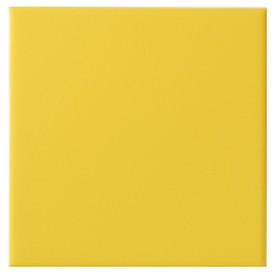 Interceramic 80-Pack True Yellow Glazed Ceramic Wall Tile (Common: 4-in x 4-in; Actual: 4.24-in x 4.24-in)