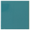 Interceramic 40-Pack Gulf Blue Ceramic Wall Tile (Common: 6-in x 6-in; Actual: 6.01-in x 6.01-in)