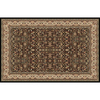 Home Dynamix 7-ft 10-in x 10-ft 2-in Vienna Black Area Rug
