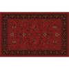 Home Dynamix 5-ft 2-in x 7-ft 6-in Red Sofia Area Rug