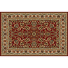 Home Dynamix Paris Red Rectangular Indoor Woven Area Rug (Common: 5 x 8; Actual: 62-in W x 86-in L)