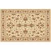 Home Dynamix Rome Ivory Rectangular Indoor Woven Area Rug (Common: 5 x 8; Actual: 62-in W x 84-in L)