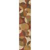 Home Dynamix Matrix Cinnabar Brown Rectangular Indoor Woven Runner (Common: 2 x 8; Actual: 23.6-in W x 84-in L)
