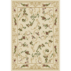 Home Dynamix Geneva 7-ft 8-in x 10-ft 4-in Rectangular Beige Floral Area Rug