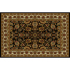 Home Dynamix 5-ft 2-in x 7-ft 2-in Paris Black Area Rug