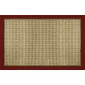 Home Dynamix Madrid Red Rectangular Indoor Woven Area Rug (Common: 5 x 8; Actual: 62-in W x 86-in L)
