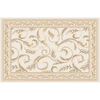 Home Dynamix 5-ft 2-in x 7-ft 4-in Ivory Athens Area Rug