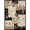 Home Dynamix 6-ft 7-in x 9-ft 10-in Black Supreme Area Rug