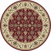 Home Dynamix 7-ft 10-in Red Supreme Area Rug