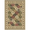 Home Dynamix Supreme 2S 4-ft 11-in x 6-ft 7-in Rectangular White Transitional Area Rug