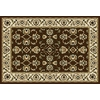 Home Dynamix Supreme 3 3-ft 3-in x 4-ft 11-in Rectangular Tan Solid Area Rug