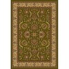 Home Dynamix Brussels 62-in x 86-in Rectangular Green Floral Area Rug