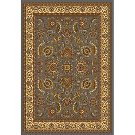 Home Dynamix Brussels Blue and Ivory Rectangular Indoor Woven Area Rug (Common: 8 x 10; Actual: 92-in W x 124-in L)