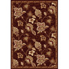 Home Dynamix Lisbon 5-ft 2-in x 7-ft 2-in Rectangular Tan Floral Area Rug